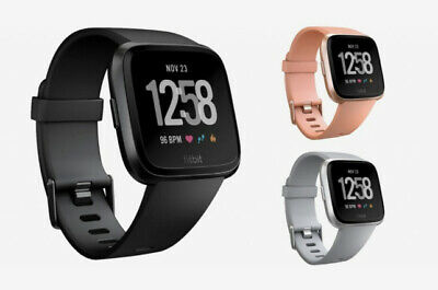 AU149 • Buy New Fitbit Versa Smart Fitness Watch Wristband - Large And Small