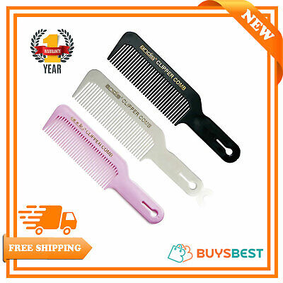 £3.99 • Buy Andis Professional Barber Clipper Flat-Top Comb ( Black/White/Pink )