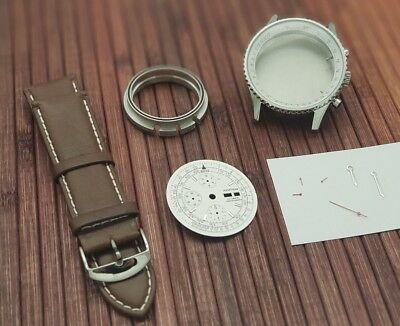 $219 • Buy Aviation Watch Kit For ETA Valjoux 7750 Swiss Made Movement - New - Military