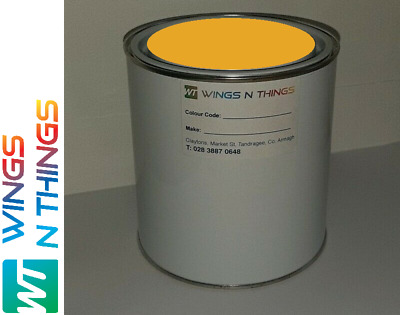 Tractor & Machinery  Enamel Gloss Metal Paint  NEW HOLLAND YELLOW 1ltr • 22£