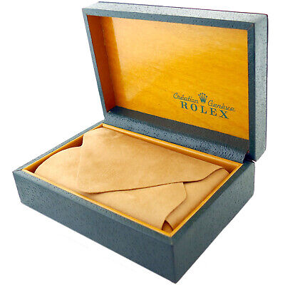 $ CDN191.97 • Buy Rolex Creation Geneve Green Leather With Wood Interior Watch Box + Pillow/cloth