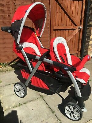 Double Pram, With Foot Cosy, Very Good Condition Has A Small Amount Of Mould   • 80£