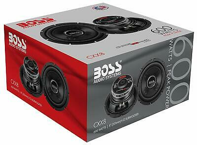 AU58.04 • Buy BOSS Audio Systems 600 Watts Car Subwoofer 8 Inch Single 4 Ohm Voice Coil