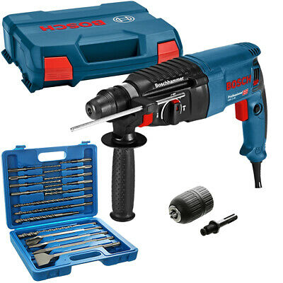 View Details Bosch GBH 2-26 SDS+ Rotary Hammer Drill 240V In Case With 17Pc Acc. Set & Chuck • 116.99£