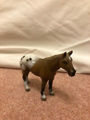 Schleich RETIRED Appaloosa Gelding Excellent Condition • 22£