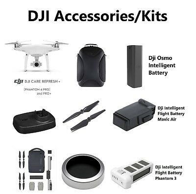 AU22 • Buy DJI Drone Phantom 4 Pro Osmo Mavic Filter Kits Base Battery Backpack Accessories
