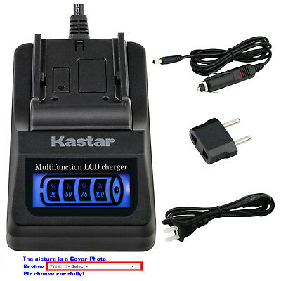 $ CDN41.53 • Buy Kastar Battery LCD Quick Charger For Sony NP-FW50 BC-VW1 & ILCE-6000 Alpha A6000