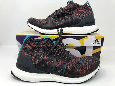 64ca513bed500 Adidas Ultra Boost Mid Multi Color White Mens Running Sneakers G26843 Size  7.5 • 149.70