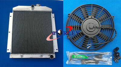 AU231.36 • Buy 3 Row For Chevy Pickup Truck 1947-1954 48 49 50 51 52 53 Aluminum Radiator+FAN