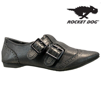 Ladies Rocket Dog Flat Buckle Casual Ballerina Ballet Loafers Pumps Shoes Size  • 7.95£