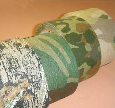 £3.53 • Buy Tape Camo Camouflage Rifle Wrap Hunting Gun Stealth Adhesive Self Army LH