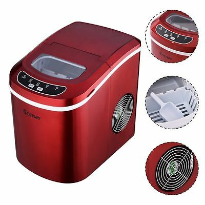Countertop Ice Maker Machine Fast Portable Cube Compact Nugget Dispenser Water  • 159.99$
