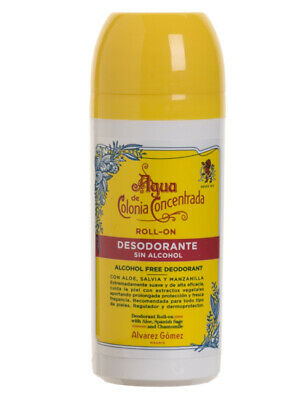 Agua De Colonia Concentrada Mens Roll On Deodorant Stick 75ml • 10.95£