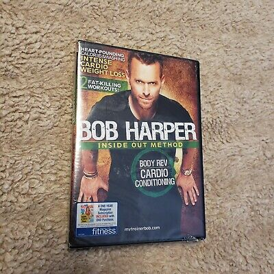 Bob Harper: Inside Out Method - Body Rev Cardio Conditioning DVD Fitness Workout • 14.30£