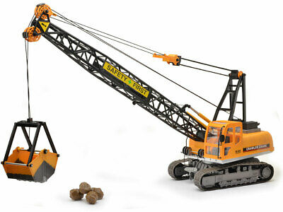 Remote Control Digger 15Ch RC Toy Excavator Truck Radio Controlled Construction • 41.50£