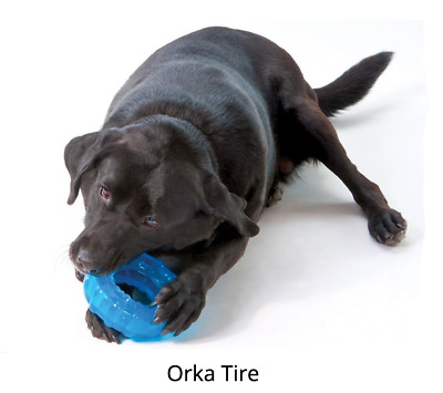 £12.99 • Buy Petstages ORKA Tire Chew Toy Large Or Medium Dogs Thick Rim 6  L X 6  W X 2  H