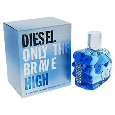 £38.95 • Buy Diesel Only The Brave High 75ml Authentic EDT Spray Brand New & Sealed Box
