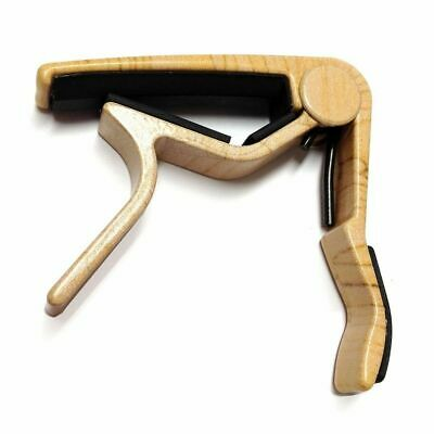 $ CDN24.09 • Buy New Dunlop 83CM Curved Trigger Capo For 6- & 12-String Acoustic Guitar, Maple