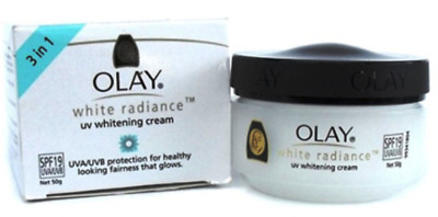 AU28.29 • Buy Olay White Radiance UV Whitening Cream SPF19 UVA/UVB Protection 50g