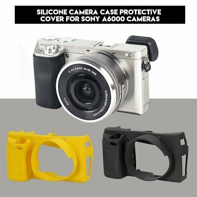 $ CDN11.26 • Buy Multicolor Soft Silicone Camera Body Bag Cover Protective Case For Sony A6000