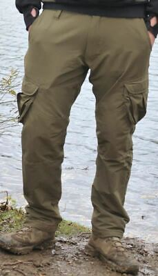 Korda Polar Kombats Dark Olive - Carp Fishing Combat Trousers • 64.99£