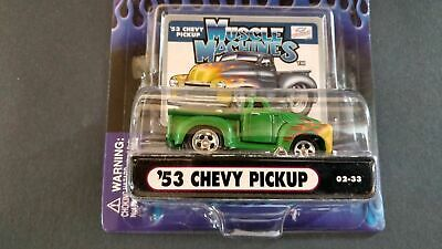 AU6.98 • Buy Muscle Machines '53 Chevy Pickup 02-33 Green