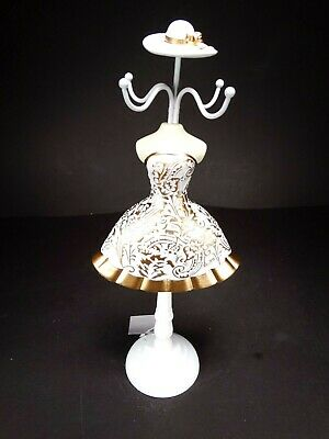 Large 32 Cm Lady Mannequin Jewellery Stand Tree Display Necklace Holder Nr.55 • 17.99£