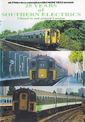 £15.99 • Buy 25 Years Of Southern Electrics Dvd: London Gatwick Express CEPs CIGs VEPs EPBs