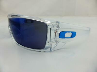 AU169 • Buy Oakley BATWOLF Sunglasses Polished Clear - Ice Iridium Lens 9101-07