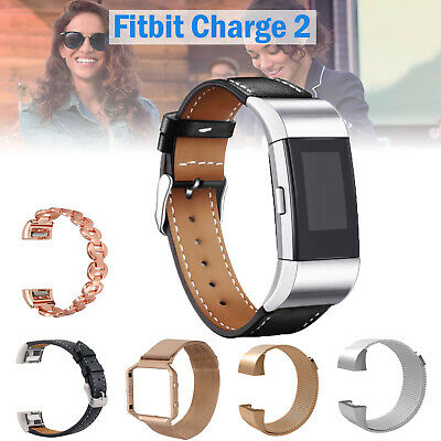 AU14.99 • Buy Fitbit Charge 2 Various Band Replacement Milanese Wristband Watch Strap Bracelet