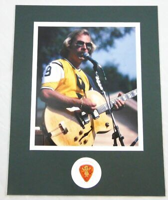 $ CDN237.80 • Buy Jimmy Buffett Concert Stage Used Guitar Pick Matted With Photo Display 11x14