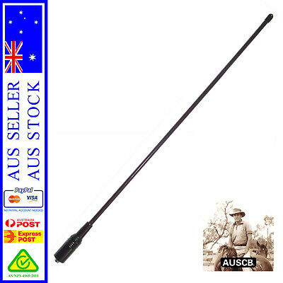 AU18.50 • Buy Long Range UHF CB Antenna - For AUSCB 5W 80CH UHF CB Handheld