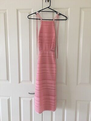AU30 • Buy Finders Keepers Pink Cocktail Races Dress Size XS