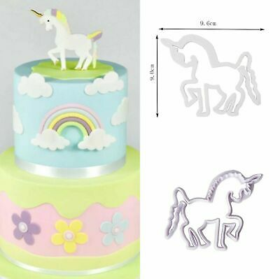 AU9 • Buy UNICORN Horse Fondant Cookie Cutter Sugarcraft Mould