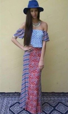 AU250 • Buy Tigerlily Indienne Maxi Dress Sz 14 RARE EUC