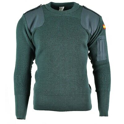 $38.98 • Buy Genuine Spanish Army Pullover Commando Jumper Spain Military Sweater NEW