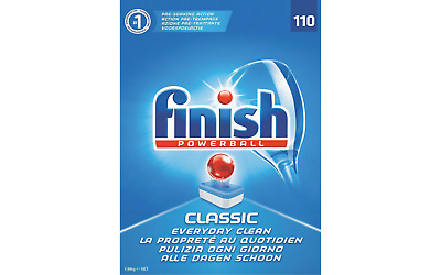 Finish Dishwasher Tablets Classic 110 Pieces • 16.15£
