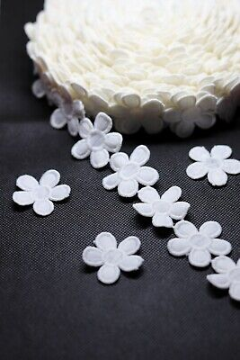1 Meter 0ff White Cotton Lace Trim Flower Embellishment For Craft Ans Sew On  • 2.99£