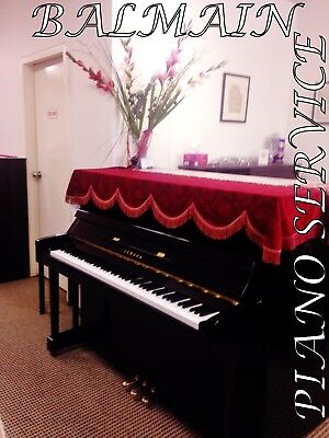 AU4995 • Buy YAMAHA MC10BL-upright Piano+10YRS WARRANTY+TRY BEFORE YOU BUY-PLEASE READ!!!