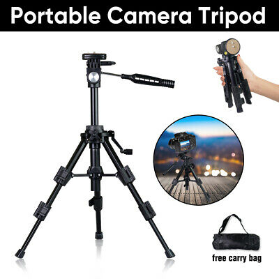 AU23.92 • Buy Portable Travel Camera Tripod Table Top Photography Mini Stand Holder DSLR Video
