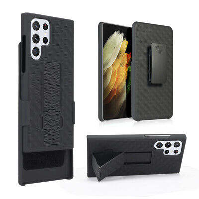 $ CDN7.45 • Buy Armor Shell Case Belt Clip Cover For Samsung Galaxy S20+ S10 S9 Note10 Note 8 9