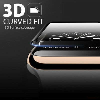 $ CDN3.80 • Buy 3D Tempered Glass Watch Screen Protector 38/42/40/44mm For Apple IWatch 4/3/2/1