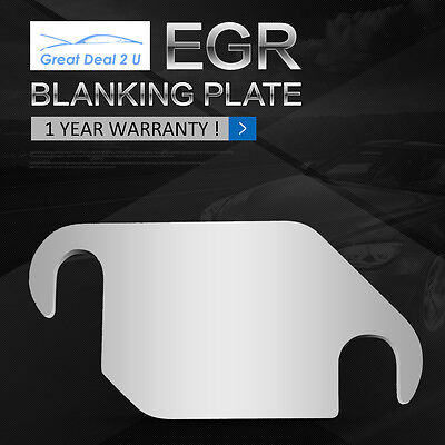 AU9.90 • Buy For Navara D22  D40 EGR Blanking Plate YD25 Euro 3 Engine To 2006 Hole C/C 73mm