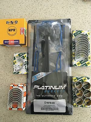 AU1163.75 • Buy Minor Engine Rebuild Kit - Holden Colorado Rc Rodeo Ra 3.0l 4jj1 4jj1tc 1/07-12