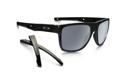 AU149 • Buy Oakley CROSSRANGE XL Sunglasses Polished Black - Grey Lens 9360-01