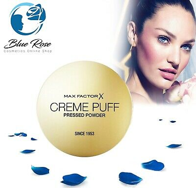 Max Factor Creme Puff 2in1 Face Compact Pressed Powder Foundation 21g • 5.99£