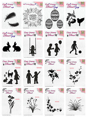 Nellie Snellen Clear Stamps - Silhouette - As Seen On TV - FREE P&P • 3.75£