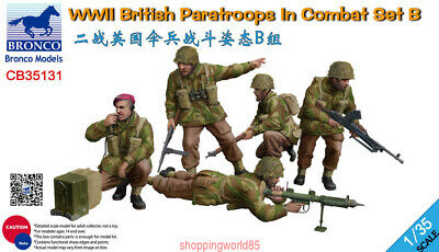 £13.50 • Buy Bronco 1/35 35131 WWII British Paratroops In Combat Set B Free Shipping