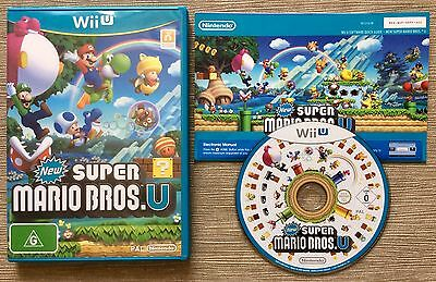 AU44.95 • Buy Wii U NEW SUPER MARIO BROS. U ~ *GENUINE AUS PAL VERSION* ~ NINTENDO Wii U