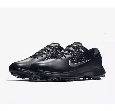a5f273211ac New Nike Golf Air Zoom TW71 Tiger Woods Black Spikes Shoe AA1990-002 Men Sz